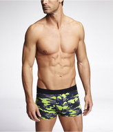Express Neon Camouflage Sport Trunks