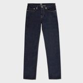 Paul Smith Men's Slim-Standard Indigo Ozone-Wash Organic-Cotton Jeans