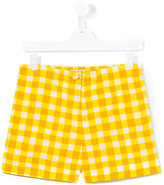 Marni checked shorts - kids - Cotton - 14 yrs