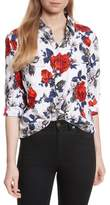 Equipment Women's Signature Floral Silk Shirt