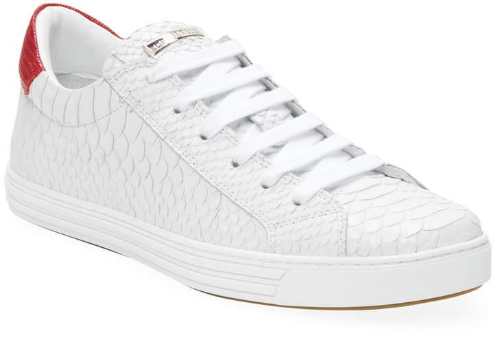 DSQUARED2 Men's Stampa Squama Sneakers