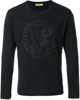 Versace tiger logo sweater