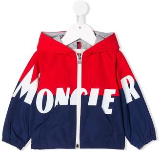 Moncler Enfant Logo Rain Jacket
