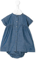 Burberry denim dress set - kids - Cotton - 9 mth