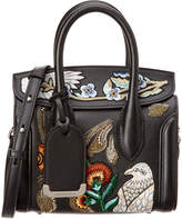 Alexander McQueen Heroine 21 Embroidered Leather Satchel