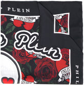 Philipp Plein floral pinted scarf