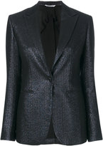 Tonello metallic fitted jacket