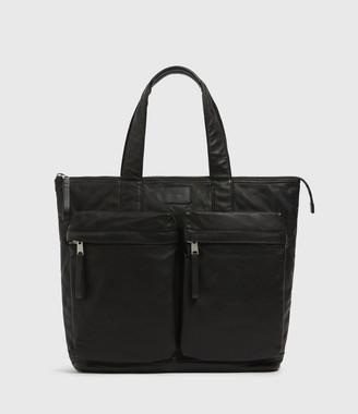 AllSaints Combat Leather Tote Bag