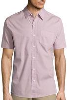 Haggar Short-Sleeve Printed Woven Shirt
