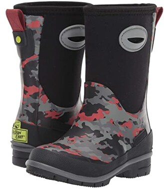 Western Chief Storm Camo Neoprene Boot (Toddler/Little Kid/Big Kid) (Black) Boys Shoes
