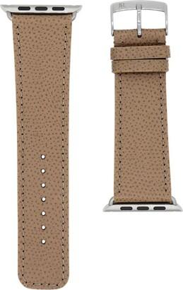 Jean Rousseau Leather Apple Watch Strap (38mm)