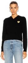Comme des Garcons V-Neck Pullover