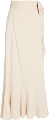 Intermix Alessandra Wrap Midi Skirt