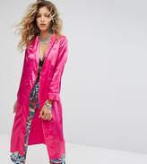 Sacred Hawk Silky Longline Kimono
