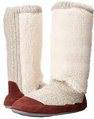 Acorn Slouch Boot (Buff Popcorn) Women's Slippers