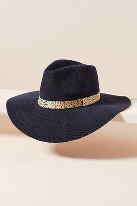 Penny Printed Trim Hat