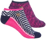 Sperry Cozy Liner Giftable Socks - 2-Pack, Below the Ankle (For Women)