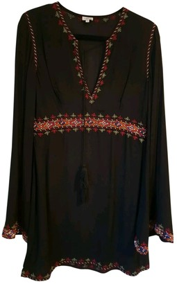 Talitha Collection Black Cotton Dress for Women