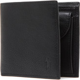 Polo Ralph Lauren Pony-embossed pebbled leather coin wallet
