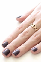 Low Luv x Erin Wasson by Erin Wasson Evil Eye Ring in Yellow Gold