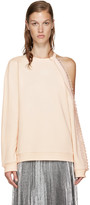 Christopher Kane Pink Cut-out and Loop Pullover