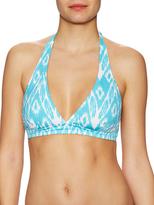 Calypso St. Barth Ikat Blusky Halter Bikini Top