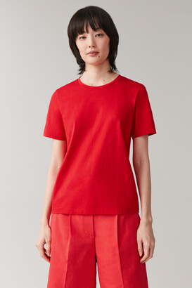 Cos Cotton-Jersey Round-Neck T-Shirt