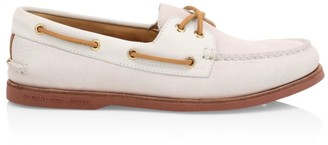 Sperry Gold Cup 2-Eye Freeport Leather Boat Shoes