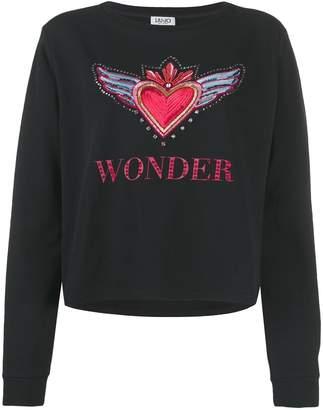 Liu Jo Wonder embellished jumper
