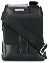 Baldinini messenger bag - men - Cotton/Calf Leather - One Size