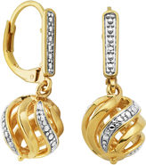 SPARKLE ALLURE Classic Treasures Diamond-Accent Swirl Ball Earrings
