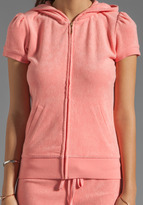Juicy Couture Terry Puff Sleeve Hoodie