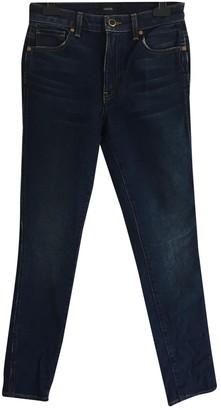 KHAITE Blue Cotton Jeans