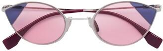 Fendi Round Frame Sunglasses