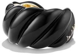 David Yurman Resin Cable Cuff Bracelet