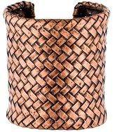 Isaac Mizrahi Woven Cuff Bracelet
