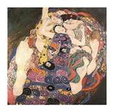 Gustav 1art1 Posters Klimt Poster Art Print - The Virgin, 1912 - 1913 (39 x 28 inches)