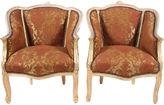 One Kings Lane Vintage 1950s Louis XVI-Style Armchairs, Pair