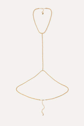 Rosantica Onore Gold-tone Body Chain - one size