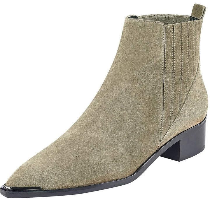 Marc Fisher Yommi Taupe Booties