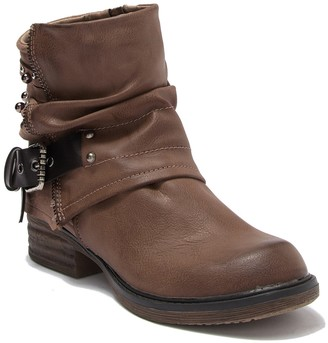 Fergalicious Maven Slouchy Buckle Ankle Boot