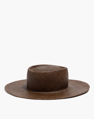 Madewell Fanny & June Straw Painter Hat