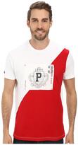 U.S. Polo Assn. Diagonal 125th Anniversary Color Block Crew Neck T-Shirt