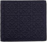 Loewe Navy Anagram Wallet