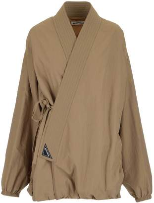 Balenciaga Tied Wrap Detail Jacket
