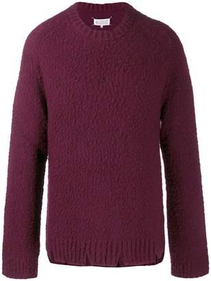 Maison Margiela bobble effect sweater