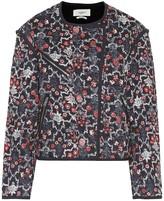 Etoile Isabel Marant Isabel Marant, étoile Manae printed linen jacket