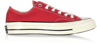 Converse Limited Edition Red Chuck 70 w/ Vintage Canvas Low Top