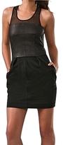 Elizabeth and James - Black Stiletto Sheat Dress