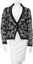 Chanel Lace Shawl-Lapel Blazer w/ Tags